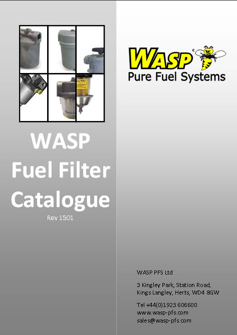 WASP PFS Fuel Filter Range Brochure