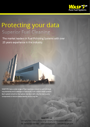 WASP PFS Protecting your data / Fuel Cleaning